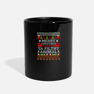 Animals Christmas Merry Christmas Ya Filthy Anim - Full Color Mug