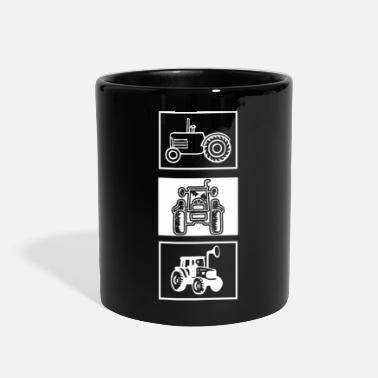 Pull tractor pulling - Full Color Mug