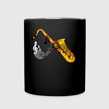 Saxophone - Full Color Mug