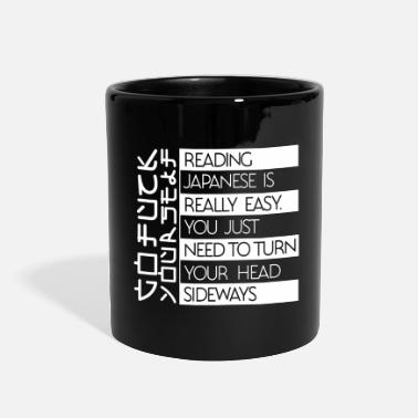 Reading Japanese Is Really Easy Reading Japanese is really easy - Full Color Mug