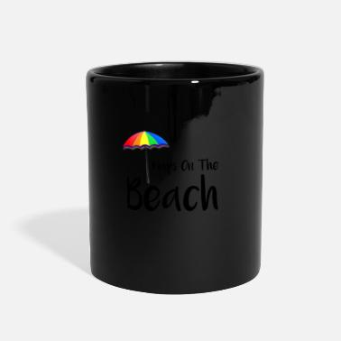 Beach Beach Naps on the Beach Napping on the Beach - Full Color Mug