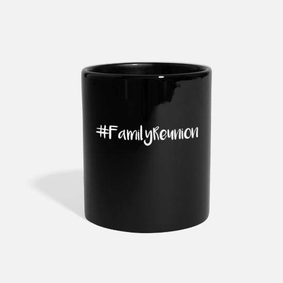 Reunion Mugs & Drinkware - Family Reunion Matching Picture Gift - Full Color Mug black
