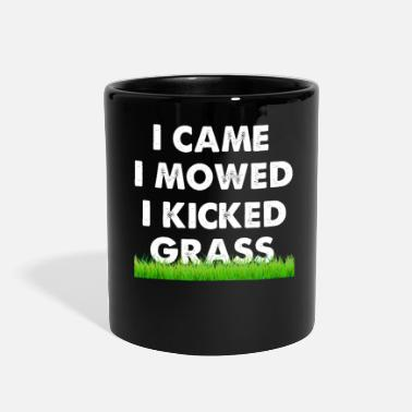Grass I Came I Mowed I Kicked Grass - Full Color Mug