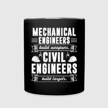 Civil Engineer Build Targets Shirt - Full Color Mug