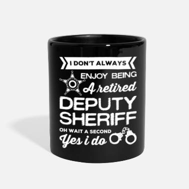 Sheriff Retired Deputy Sheriff Shirt - Full Color Mug