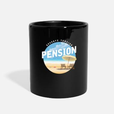 Retirement Pension Retirement - Full Color Mug