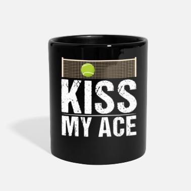 Funny Tennis Tennis Kiss My Ace Funny Tennis Player - Full Color Mug