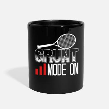 Funny Tennis Grund Mode On Tennis Racquet Funny Tennis Player - Full Color Mug