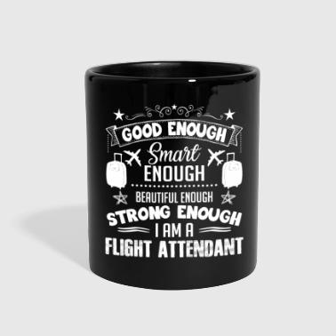 Strong Flight Attendant Shirt - Full Color Mug