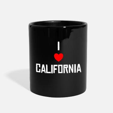 I Love California I LOVE CALIFORNIA - Full Color Mug