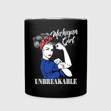 Michigan Girl Unbreakable - Full Color Mug