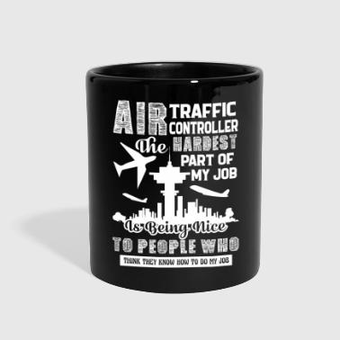 Traffic Air Traffic Controller Job Shirt - Full Color Mug
