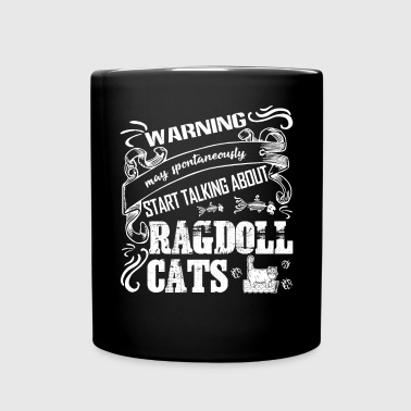 Warning Talking About Ragdoll Cats Shirt - Full Color Mug