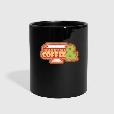 Mascara And Coffee - Full Color Mug