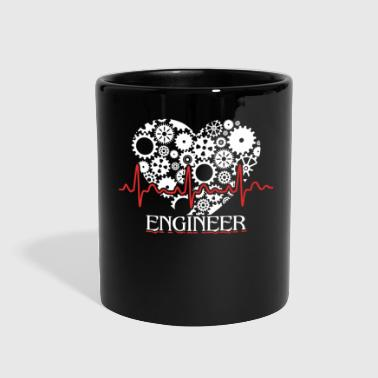 Engineer Heartbeat Shirt - Full Color Mug