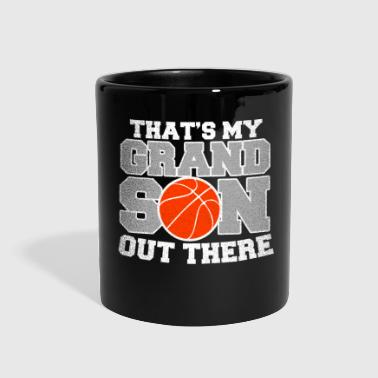 Thats my Grandson out there! Basketball Granddad - Full Color Mug