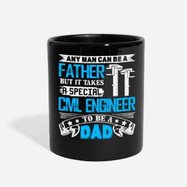 Civil Engineering Civil Engineer Dad Shirt - Full Color Mug