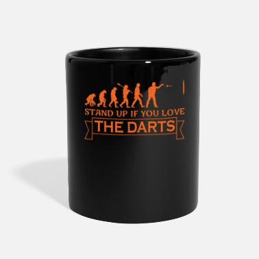 Evolutionary History darts evolutionary history darts player - Full Color Mug