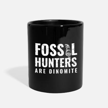 Vintage Fossil Hunting Gift for Paleontologists, - Full Color Mug