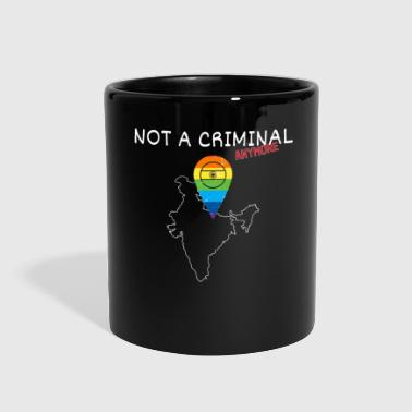 India Gay Shirt - Not a Criminal Anymore Legalize - Full Color Mug