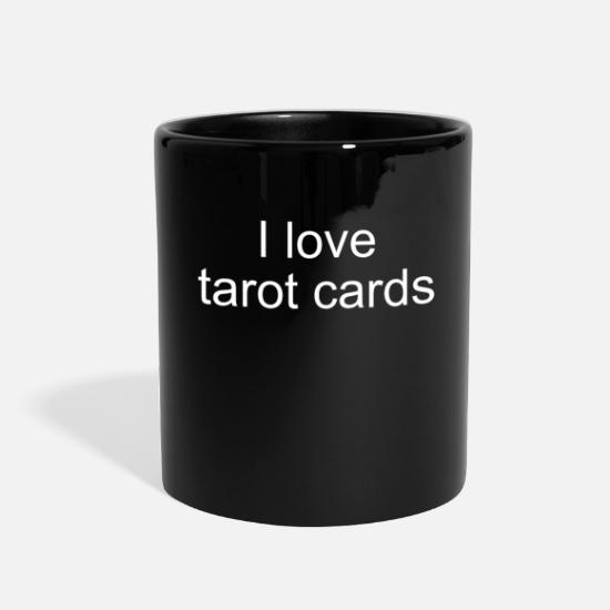Tarot Reading I love tarot cards Gift Full Color Mug | Spreadshirt