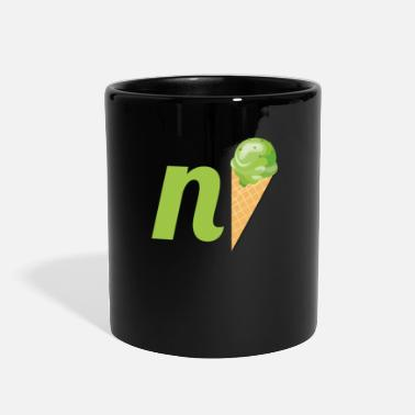 Pun nice -funny pun design - Full Color Mug
