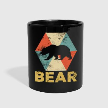 Vintage Polygon Bear - Full Color Mug