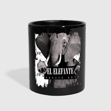 Elephant Mammal Elefante gift - Full Color Mug