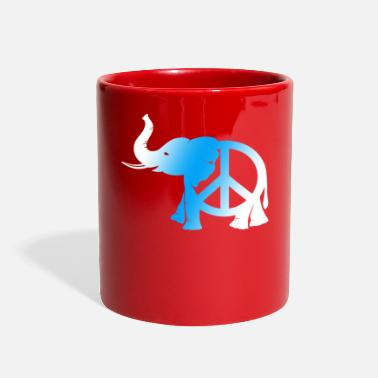 Peace Movement Peace Peace Symbol Peace Movement Peace Maker Gift - Full Color Mug