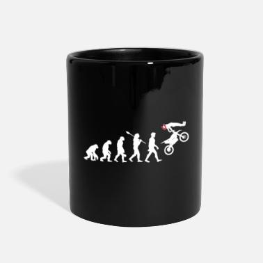 Supermoto Evolution of Motocross Supermoto Enduro - Full Color Mug