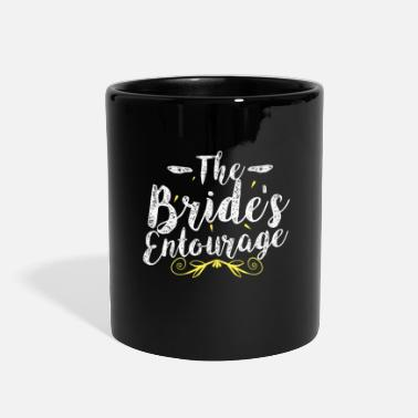 Wedding Party Bride wedding hen party - Full Color Mug