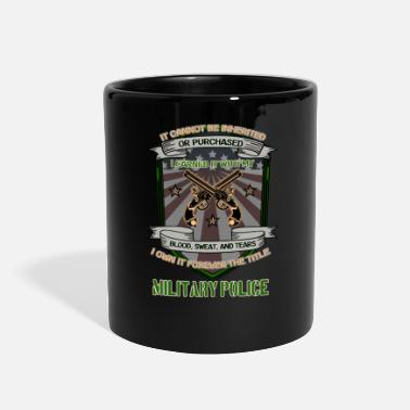 Police I forever own the title military police - Full Color Mug