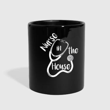 Nursing Home Nurse In the House Home Aid Nurse - Full Color Mug