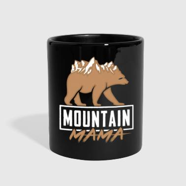 Mountain Climbing Bear - Full Color Mug