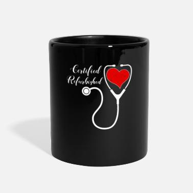Heart Transplant Survivor Heart Transplant Survivor Certified Refurbished - Full Color Mug