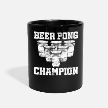 Drinking Game BEER PONG drinking game - Full Color Mug