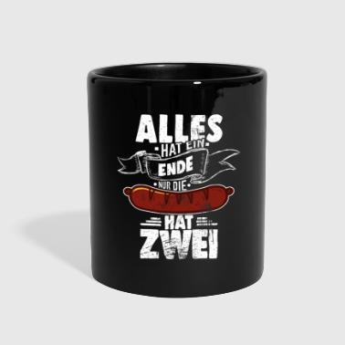 Sow Everything has an end only the sausage has two - Full Color Mug