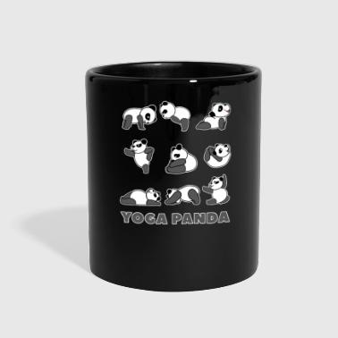 Baby Panda yoga panda cute adorable nice gift idea - Full Color Mug