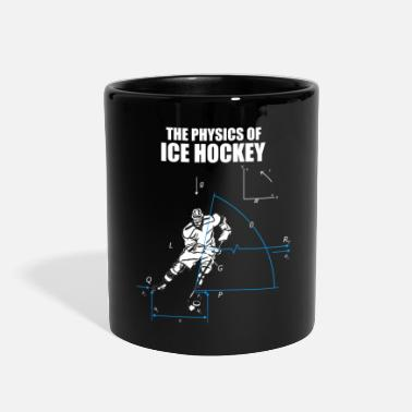 Team Awesome Ice Hockey Player Present Funny gift present coach - Full Color Mug
