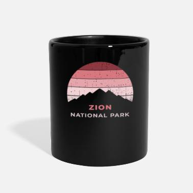 Poster Zion National Park Clothing - Full Color Mug