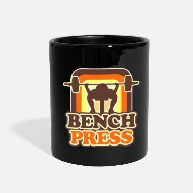 Power Press Bench Press - Full Color Mug