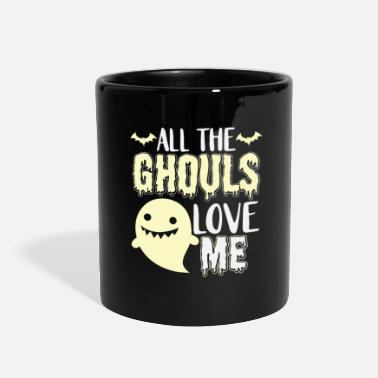 Evil all the ghouls love me funny gift - Full Color Mug