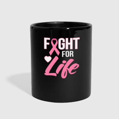 Boobs Fight For Life - Full Color Mug