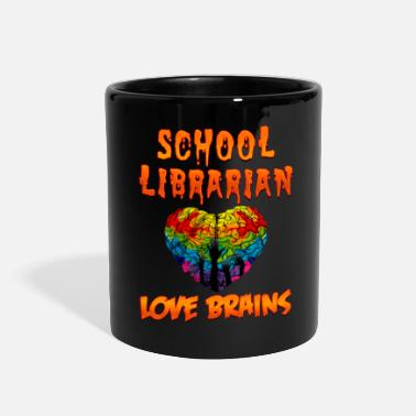 School Librarian School Librarian Halloween Costume Funny Shirt - Full Color Mug