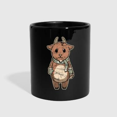 Ice Animal Kid Goat Vintage Christmas Gift - Full Color Mug