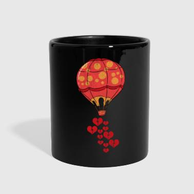Hobby Hot air balloon hobby love romance - Full Color Mug