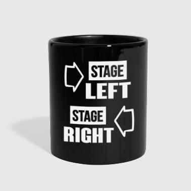Stage stage left stage right 01 - Full Color Mug