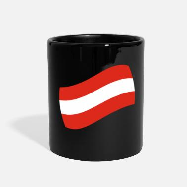 Austria Austria gift vacation flag map - Full Color Mug
