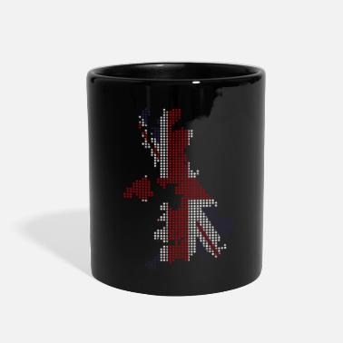 Jack England Queen Union Jack Great Britain - Full Color Mug