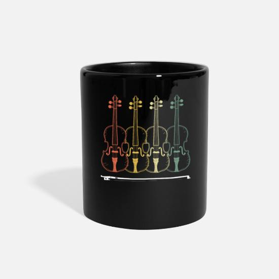 Violin Mugs & Drinkware - Violins - Full Color Mug black